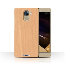 STUFF4 Phone Case/Cover for Huawei Honor 7/Beech Design/Wood Grain Effect/Pattern Collection Mobile phones