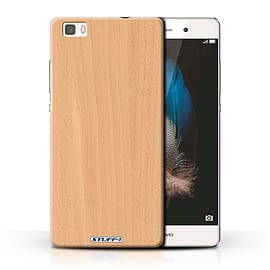 STUFF4 Phone Case/Cover for Huawei P8 Lite/Beech Design/Wood Grain Effect/Pattern Collection Mobile phones