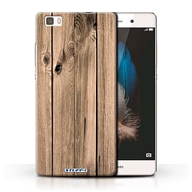 STUFF4 Phone Case/Cover for Huawei P8 Lite/Plank Design/Wood Grain Effect/Pattern Collection Mobile phones