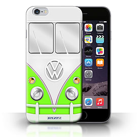 STUFF4 Phone Case/Cover for iPhone 6+/Plus 5.5/Green Design/VW Camper Van Collection Mobile phones