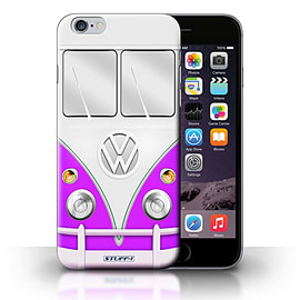 STUFF4 Phone Case/Cover for iPhone 6+/Plus 5.5/Purple Design/VW Camper Van Collection Mobile phones