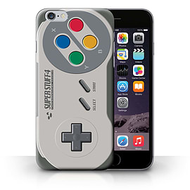 STUFF4 Phone Case/Cover for iPhone 6+/Plus 5.5/Super Nintendo Design/Games Console Collection Mobile phones
