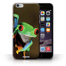 STUFF4 Phone Case/Cover for iPhone 6+/Plus 5.5/Frog Design/Wildlife Animals Collection Mobile phones