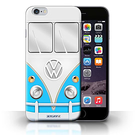 STUFF4 Phone Case/Cover for Apple iPhone 6S+/Plus/Blue Design/VW Camper Van Collection Mobile phones