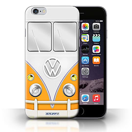 STUFF4 Phone Case/Cover for Apple iPhone 6S+/Plus/Orange Design/VW Camper Van Collection Mobile phones