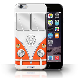 STUFF4 Phone Case/Cover for Apple iPhone 6S+/Plus/Red Design/VW Camper Van Collection Mobile phones