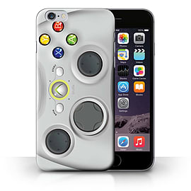 STUFF4 Phone Case/Cover for Apple iPhone 6S+/Plus/White Xbox 360 Design/Games Console Collection Mobile phones