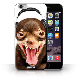 STUFF4 Phone Case/Cover for Apple iPhone 6S+/Plus/Ridiculous Dog Design/Funny Animals Collection Mobile phones
