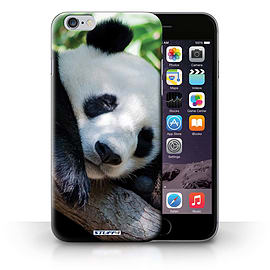 STUFF4 Phone Case/Cover for Apple iPhone 6S+/Plus/Panda Bear Design/Wildlife Animals Collection Mobile phones