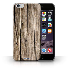 STUFF4 Phone Case/Cover for Apple iPhone 6S+/Plus/Driftwood Design/Wood Grain Effect/Pattern Mobile phones