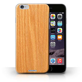 STUFF4 Phone Case/Cover for Apple iPhone 6S+/Plus/Pine Design/Wood Grain Effect/Pattern Collection Mobile phones
