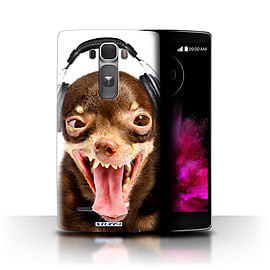 STUFF4 Phone Case/Cover for LG G Flex 2/H955/Ridiculous Dog Design/Funny Animals Collection Mobile phones