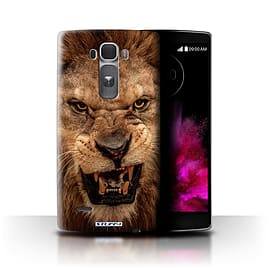 STUFF4 Phone Case/Cover for LG G Flex 2/H955/Lion Design/Wildlife Animals Collection Mobile phones