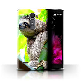 STUFF4 Phone Case/Cover for LG G Flex 2/H955/Sloth Design/Wildlife Animals Collection Mobile phones