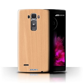 STUFF4 Phone Case/Cover for LG G Flex 2/H955/Beech Design/Wood Grain Effect/Pattern Collection Mobile phones