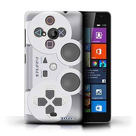 STUFF4 Phone Case/Cover for Microsoft Lumia 535/Playstation PS1 Design/Games Console Collection Mobile phones