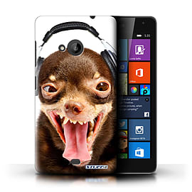 STUFF4 Phone Case/Cover for Microsoft Lumia 535/Ridiculous Dog Design/Funny Animals Collection Mobile phones