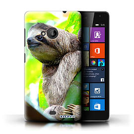 STUFF4 Phone Case/Cover for Microsoft Lumia 535/Sloth Design/Wildlife Animals Collection Mobile phones
