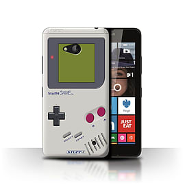 STUFF4 Phone Case/Cover for Microsoft Lumia 640/Nintendo Game Boy Design/Games Console Collection Mobile phones