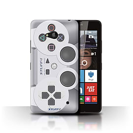STUFF4 Phone Case/Cover for Microsoft Lumia 640/Playstation PS1 Design/Games Console Collection Mobile phones