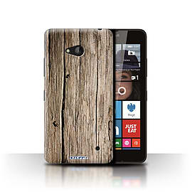 STUFF4 Phone Case/Cover for Microsoft Lumia 640/Driftwood Design/Wood Grain Effect/Pattern Mobile phones