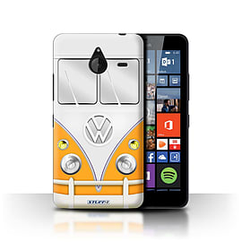 STUFF4 Phone Case/Cover for Microsoft Lumia 640 XL/Orange Design/VW Camper Van Collection Mobile phones