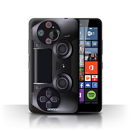 STUFF4 Phone Case/Cover for Microsoft Lumia 640 XL/Playstation PS4 Design/Games Console Collection Mobile phones