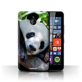 STUFF4 Phone Case/Cover for Microsoft Lumia 640 XL/Panda Bear Design/Wildlife Animals Collection Mobile phones