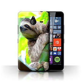 STUFF4 Phone Case/Cover for Microsoft Lumia 640 XL/Sloth Design/Wildlife Animals Collection Mobile phones