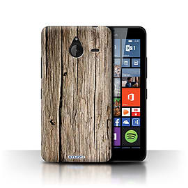 STUFF4 Phone Case/Cover for Microsoft Lumia 640 XL/Driftwood Design/Wood Grain Effect/Pattern Mobile phones