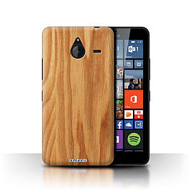 STUFF4 Phone Case/Cover for Microsoft Lumia 640 XL/Oak Design/Wood Grain Effect/Pattern Collection Mobile phones
