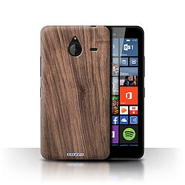 STUFF4 Phone Case/Cover for Microsoft Lumia 640 XL/Walnut Design/Wood Grain Effect/Pattern Mobile phones
