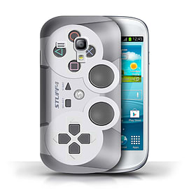 STUFF4 Phone Case/Cover for Samsung Galaxy S3 Mini/Playstation PS1 Design/Games Console Collection Mobile phones