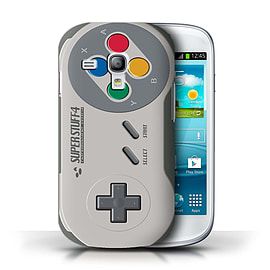 STUFF4 Phone Case/Cover for Samsung Galaxy S3 Mini/Super Nintendo Design/Games Console Collection Mobile phones