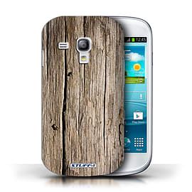 STUFF4 Phone Case/Cover for Samsung Galaxy S3 Mini/Driftwood Design/Wood Grain Effect/Pattern Mobile phones