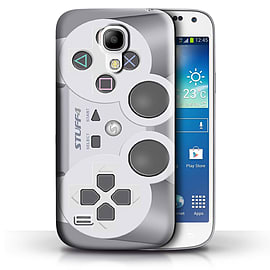 STUFF4 Phone Case/Cover for Samsung Galaxy S4 Mini/Playstation PS1 Design/Games Console Collection Mobile phones