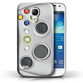 STUFF4 Phone Case/Cover for Samsung Galaxy S4 Mini/White Xbox 360 Design/Games Console Collection Mobile phones