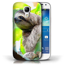 STUFF4 Phone Case/Cover for Samsung Galaxy S4 Mini/Sloth Design/Wildlife Animals Collection Mobile phones