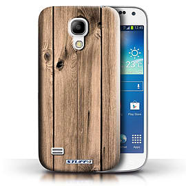 STUFF4 Phone Case/Cover for Samsung Galaxy S4 Mini/Plank Design/Wood Grain Effect/Pattern Collection Mobile phones