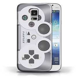 STUFF4 Phone Case/Cover for Samsung Galaxy S5 Mini/Playstation PS1 Design/Games Console Collection Mobile phones