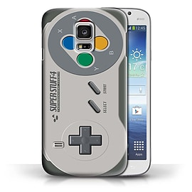 STUFF4 Phone Case/Cover for Samsung Galaxy S5 Mini/Super Nintendo Design/Games Console Collection Mobile phones