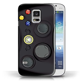 STUFF4 Phone Case/Cover for Samsung Galaxy S5 Mini/Black Xbox 360 Design/Games Console Collection Mobile phones