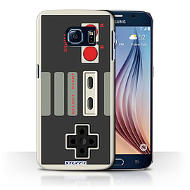 STUFF4 Phone Case/Cover for Samsung Galaxy S6/G920/Nintendo Classic Design/Games Console Collection Mobile phones