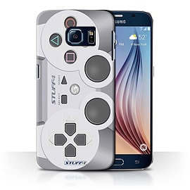STUFF4 Phone Case/Cover for Samsung Galaxy S6/G920/Playstation PS1 Design/Games Console Collection Mobile phones