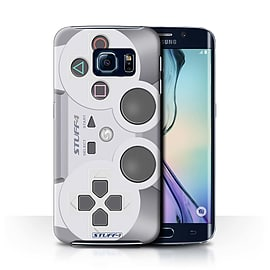 STUFF4 Phone Case/Cover for Samsung Galaxy S6 Edge/Playstation PS1 Design/Games Console Collection Mobile phones