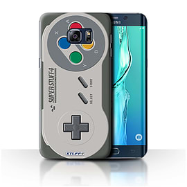 STUFF4 Phone Case/Cover for Samsung Galaxy S6 Edge+/Plus/Super Nintendo Design/Games Console Mobile phones