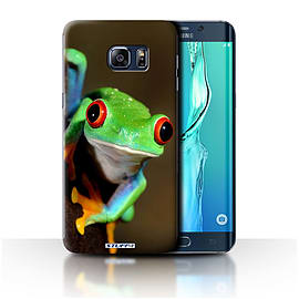 STUFF4 Phone Case/Cover for Samsung Galaxy S6 Edge+/Plus/Frog Design/Wildlife Animals Collection Mobile phones