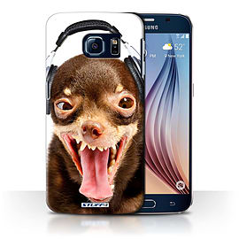 STUFF4 Phone Case/Cover for Samsung Galaxy S6/G920/Ridiculous Dog Design/Funny Animals Collection Mobile phones