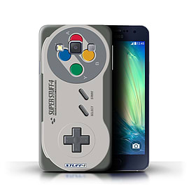 STUFF4 Phone Case/Cover for Samsung Galaxy A3/A300/Super Nintendo Design/Games Console Collection Mobile phones
