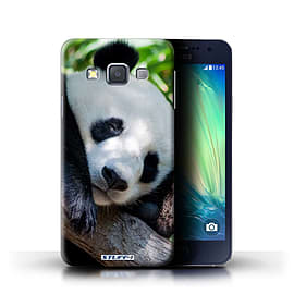 STUFF4 Phone Case/Cover for Samsung Galaxy A3/A300/Panda Bear Design/Wildlife Animals Collection Mobile phones